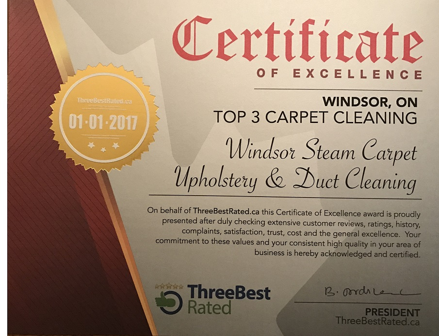 Windsor Steam Commercial And Residential Carpet Cleaning